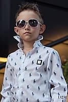 Рубашка на мальчиков Polo белая, фото 1