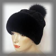 меховые шапки на вязаной основе украина купить недорого у