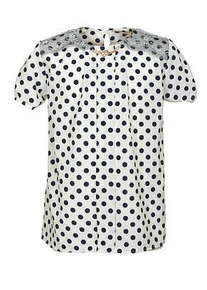 Красива яскрава блуза для дівчинки в школу р. 128-146, фото 2