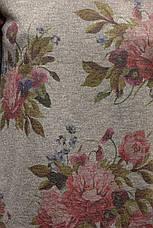 Жіночий світшот із люрексом і квітковим принтом , фото 2