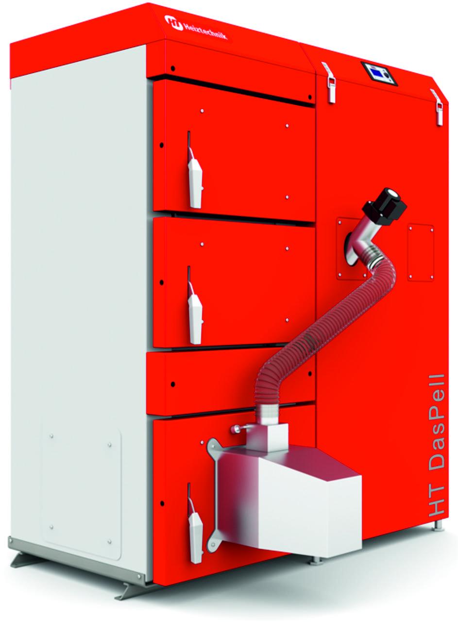 Пелетный котел Heiztechnik DasPell GL 60