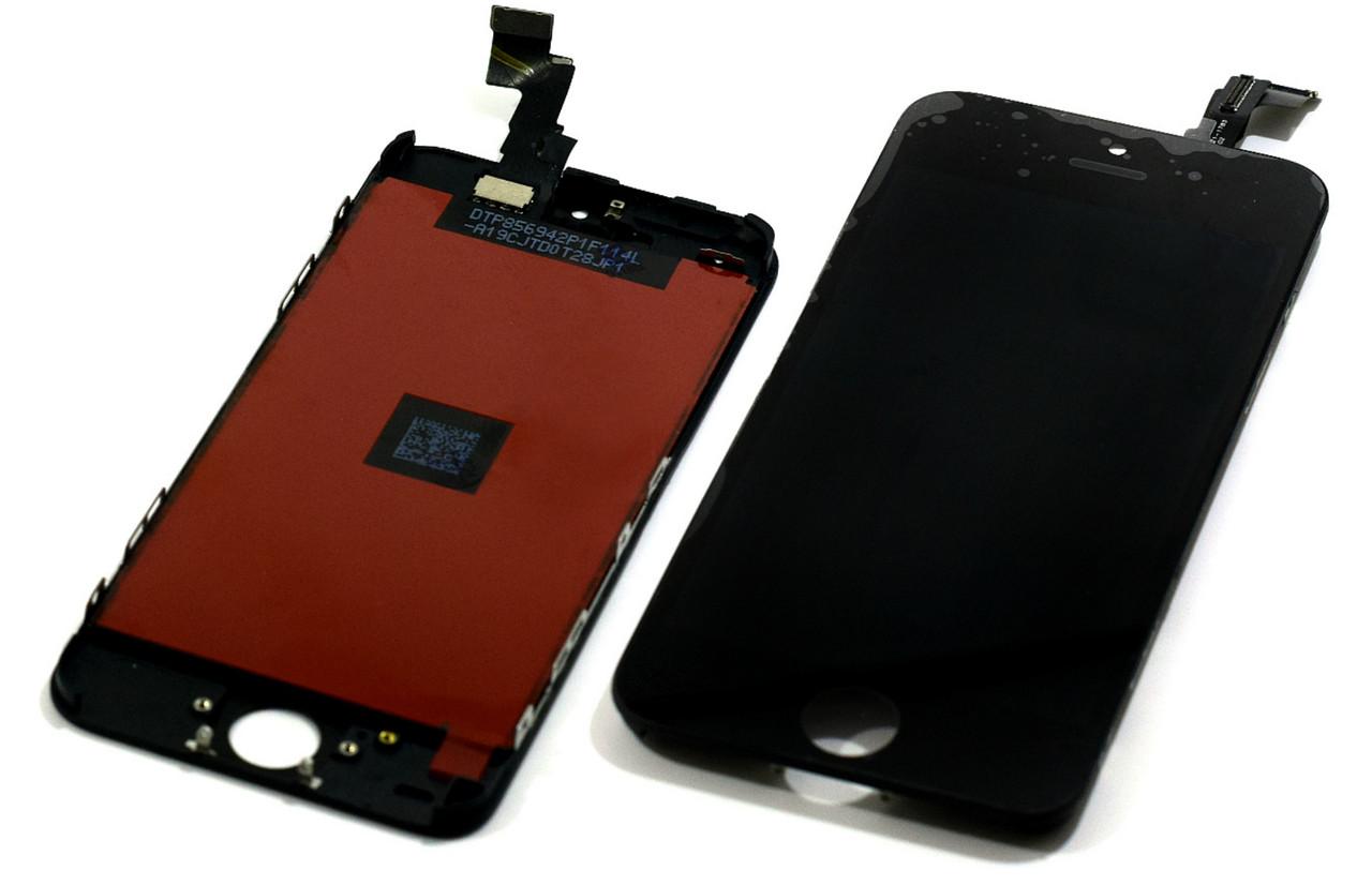 Модуль Apple iPhone 5C black Orig