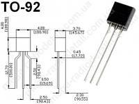 Микросхема TL431ACZ-AP TO-92