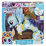 Интерактивная пони Радуга Рэинбоу Дэш пират My Little Pony Flip and Whirl Rainbow Dash Pony, фото 2