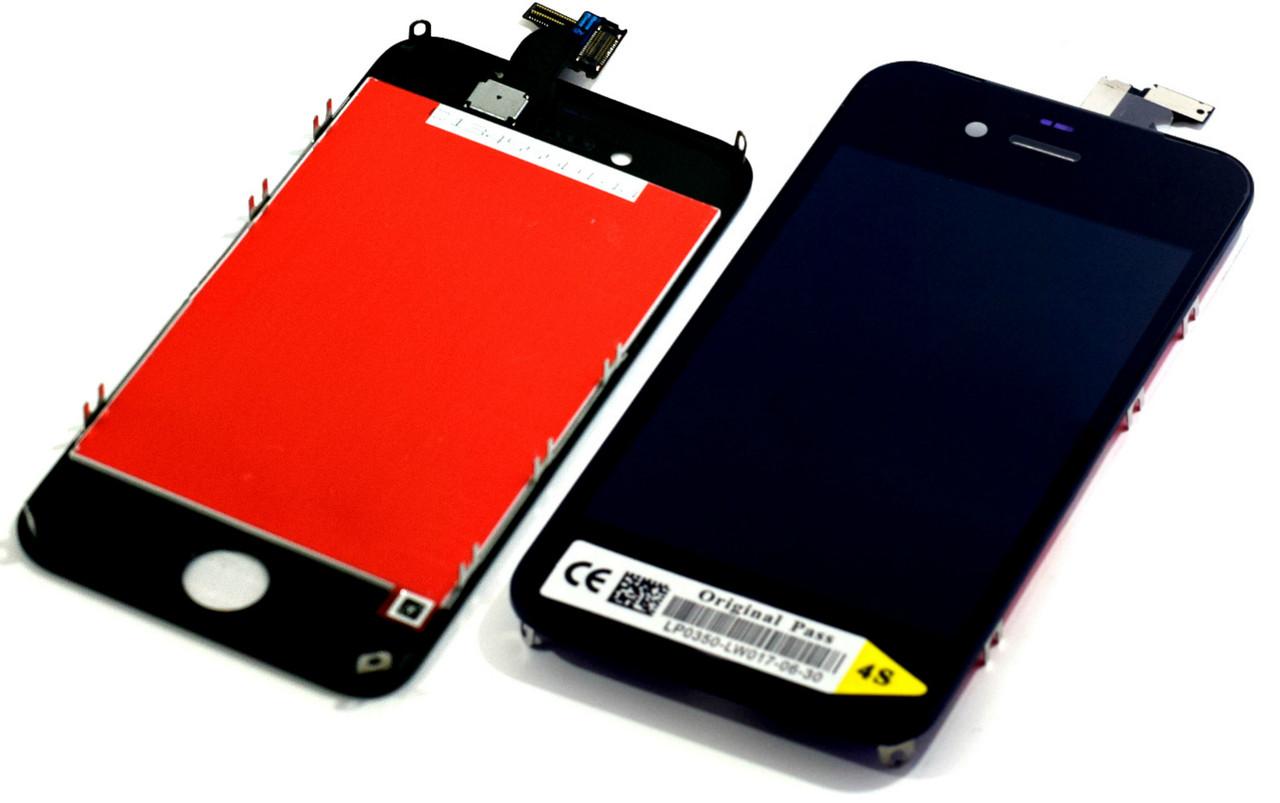 Модуль Apple iPhone 4S black h.c. .l