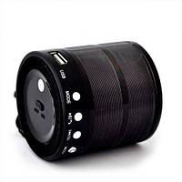Портативная колонка блютуз колонка MP3 плеер MHZ WS-887 Black