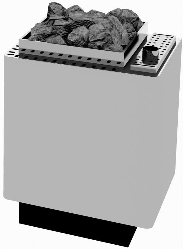 Электрокаменка Ewald Lang TYP WK45 9 + 1,5 кВт с парогенератором