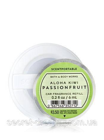 Ароматизатор (сменный блок) в автомобиль Aloha Kiwi Passionfruit