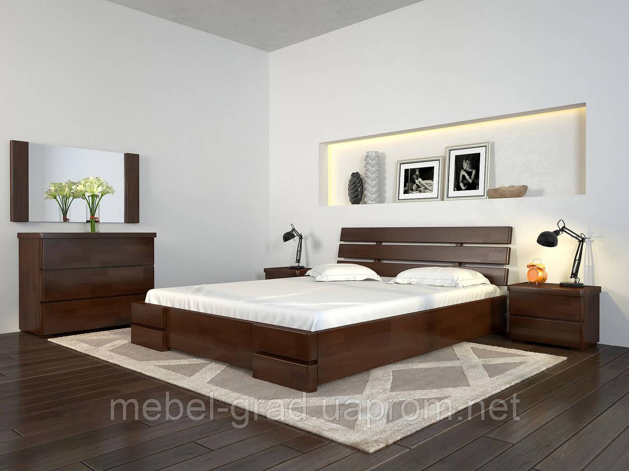 Кровать Arbordrev Дали Люкс без ПМ (160*200) бук