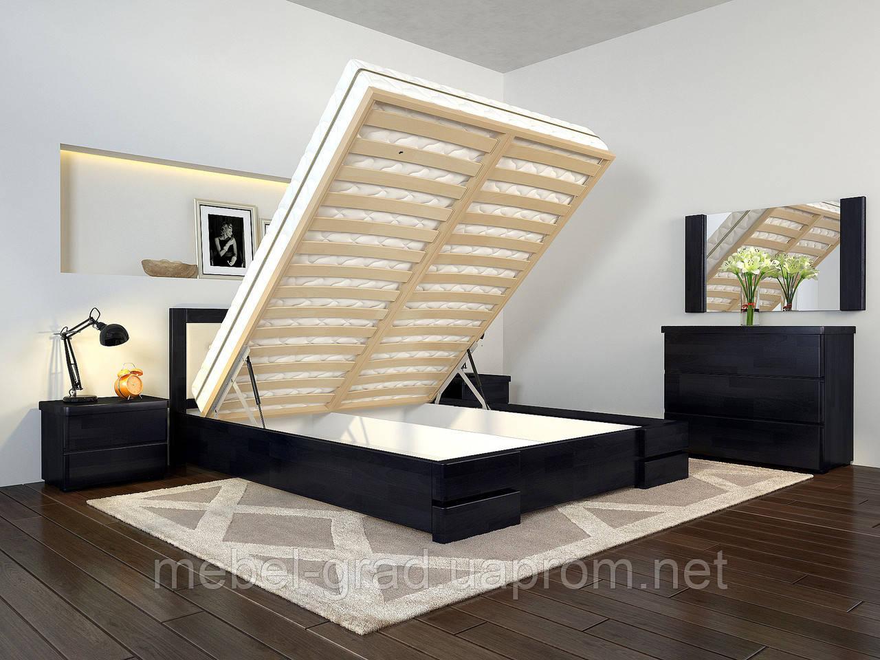 Кровать Arbordrev Регина Люкс с механизмом (160*200) бук