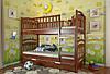 Двухъярусная кровать Arbordrev Смайл (80*200) сосна, фото 4