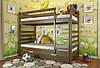 Двухъярусная кровать Arbordrev Рио (80*190) сосна, фото 3