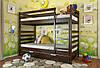 Двухъярусная кровать Arbordrev Рио (90*190) сосна, фото 5
