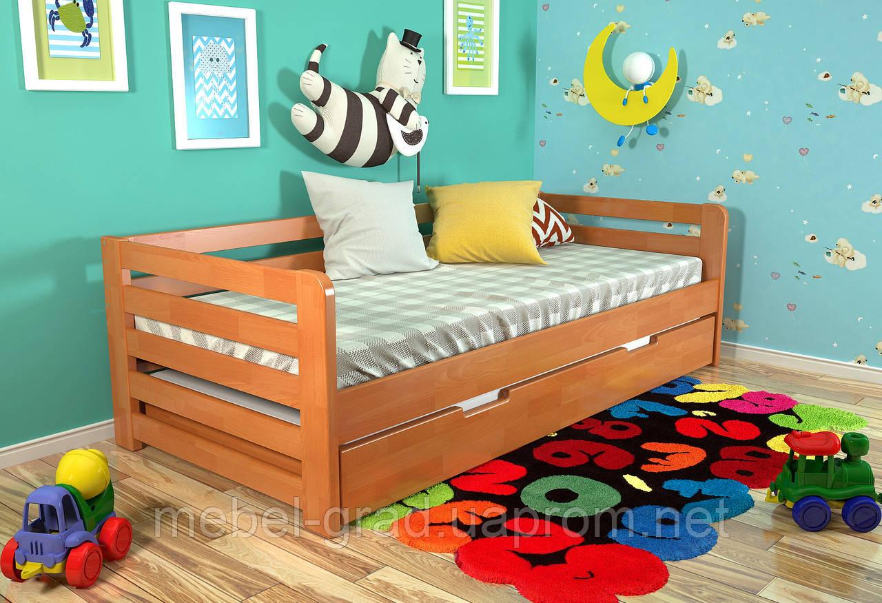 Детская кровать Arbordrev Немо (80*200) бук