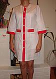 Медицинский халат 2189 (батист), фото 3