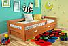 Детская кровать Arbordrev Альф (90*190) бук, фото 3