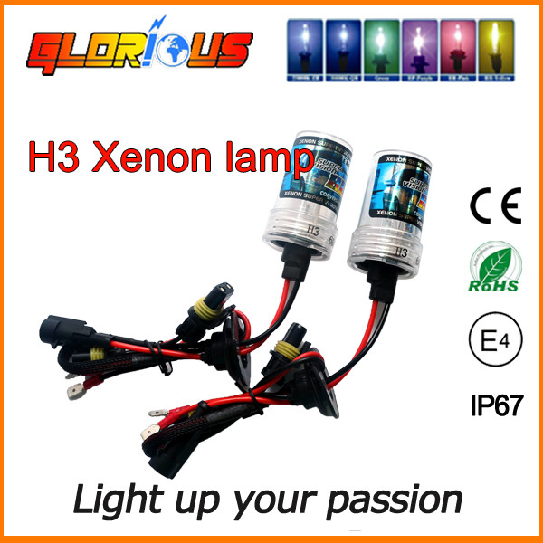 Ксеноновые лампы Н3 для автомобиля 4300К