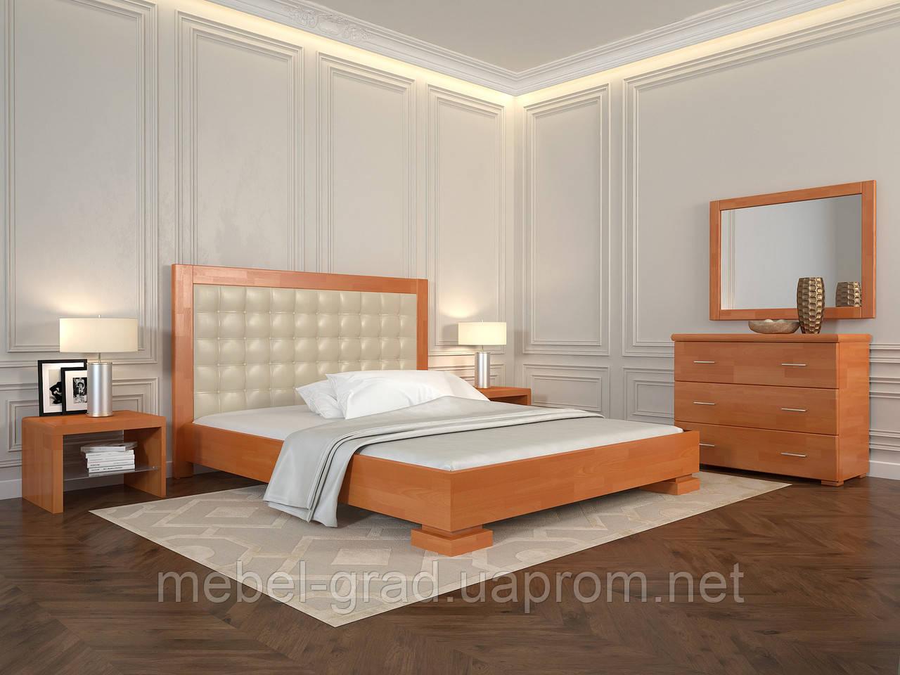 Кровать Arbordrev Подиум квадраты (180*200) сосна