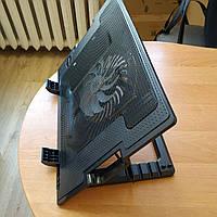 Подставка для ноутбука Ergo Stand USB с вентилятором охлаждением на стол черная