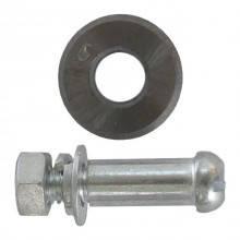 Колесо переменное для плиткореза с осью 16x2x6 мм INTERTOOL HT-0348
