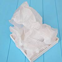 Бумага тишью 1 лист (белый), 75х50 см.