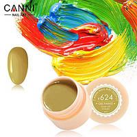 Гель краски и гель лак 2 в 1 Canni, №624