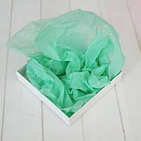 Бумага тишью 1 лист (мятный), 75х50 см.