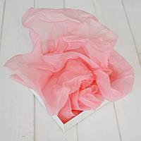 Бумага тишью 1 лист (розовый), 75х50 см.