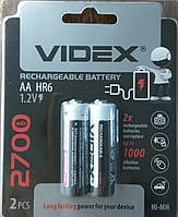 Аккумуляторы Videx HR6/AA 2700mAh