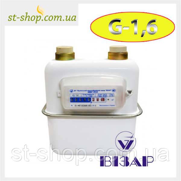 Счетчик газа Визар G 1,6 (Мембранный)