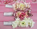 Детская повязочка-резинка с цветами , фото 3