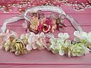 Детская повязочка-резинка с цветами , фото 4