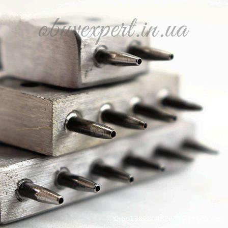 Пробойник шаговый (круглый) для кожи шаг 4 мм, 6 зубцов, фото 2