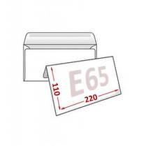 Конверты Е65 (DL) 75 грм (110х220) скл, бел. (0+0), фото 3
