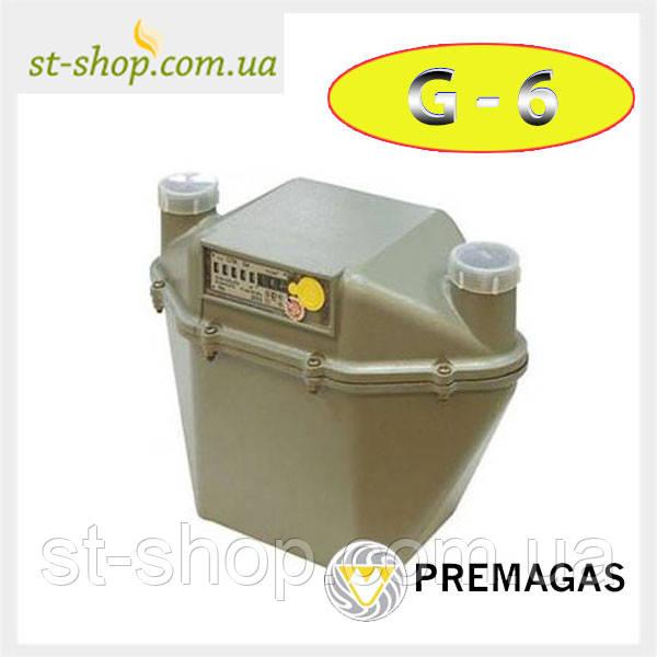 Счетчик газа Premagas MKM-U G 6 (Мембранный)