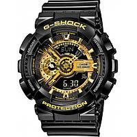 Часы  Casio G-Shock GA-110GB Black-Gold