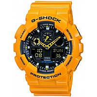 Часы  Casio G-Shock GA-100 Уellow