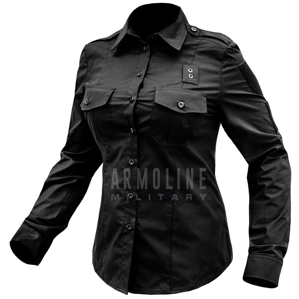 """Рубашка женская """"POLICE 5.45"""" BLACK"""