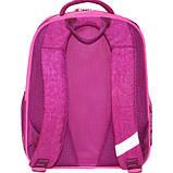 Детский школьный рюкзак для мальчика Bagland Отличник с ортопедической спинкой (принт синий 432) 20 л , фото 3