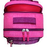 Детский школьный рюкзак для мальчика Bagland Отличник с ортопедической спинкой (принт синий 432) 20 л , фото 4