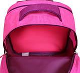 Детский школьный рюкзак для мальчика Bagland Отличник с ортопедической спинкой (принт синий 432) 20 л , фото 5