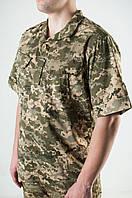 Рубашка Военная Пиксель из Рубашечной Ткани, фото 1