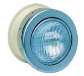 Прожектор MTS SSL 8033 / 300 Вт / 12 В нержавеющая сталь, под бетон, регулируемый рефлектор