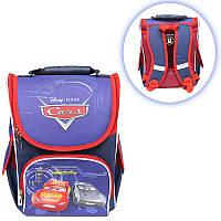 Школьный ранец-короб для мальчика ортопедический ТМ Smile принт Молния Маквин 34,5*25,5*13 см
