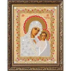 Схема для вышивки бисером Казанская БМ