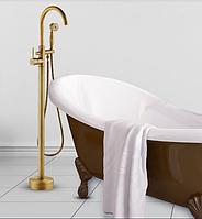 Стойка напольная в ванную комнату в бронзе 8-001