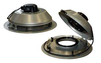 Крышный вентилятор Systemair TFSR 125 XL Sileo Grey
