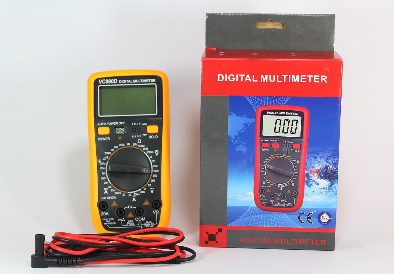 Цифровой мультиметр  DT VC 61