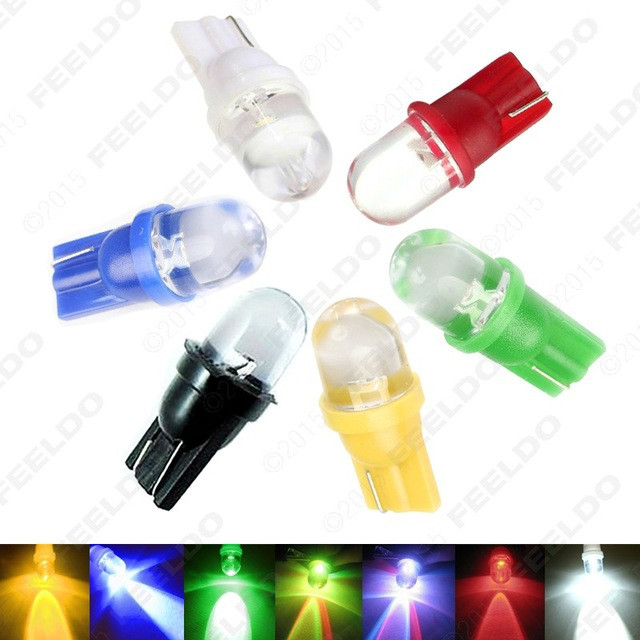 T10 W5W Габаритные огни - RGB