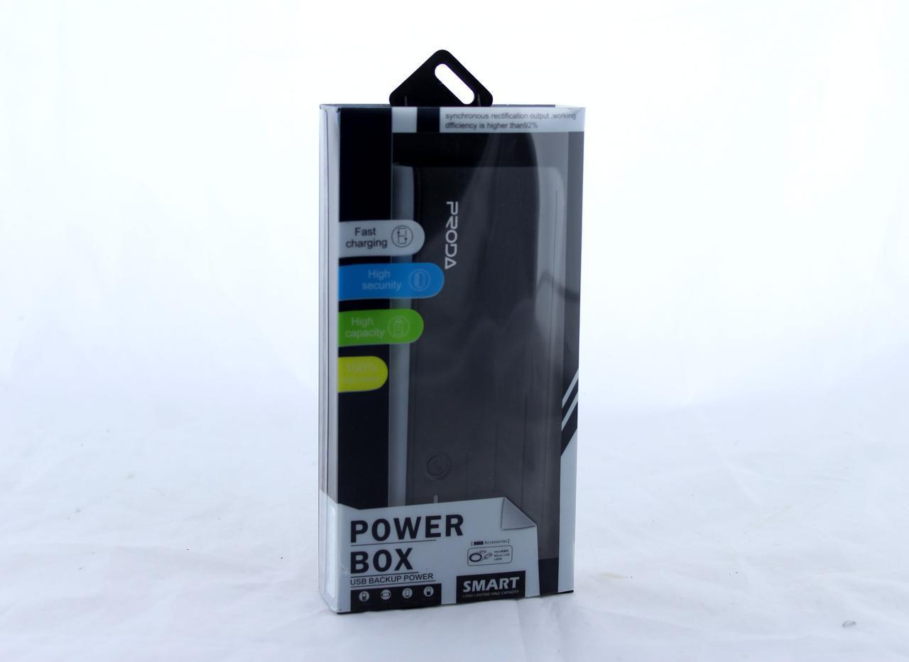 Мобільна зарядка POWER BANK B 12000ma PRODA (реальна ємність 4800)
